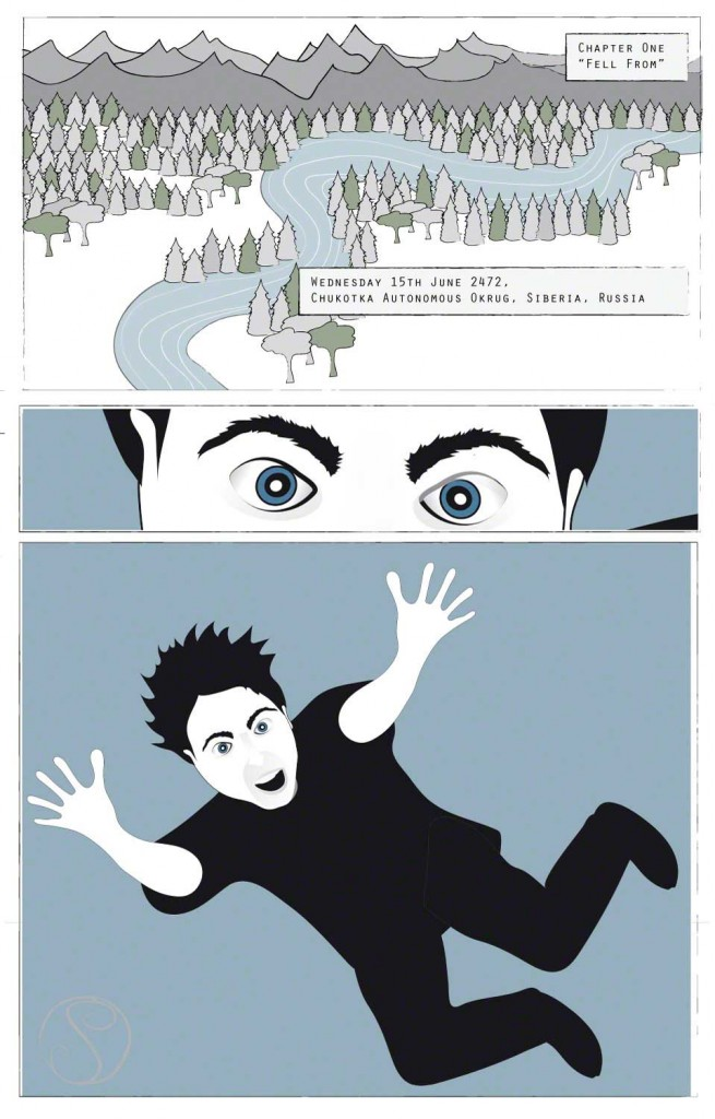 The Boy Who Fell from the Sky Comic Book - P1