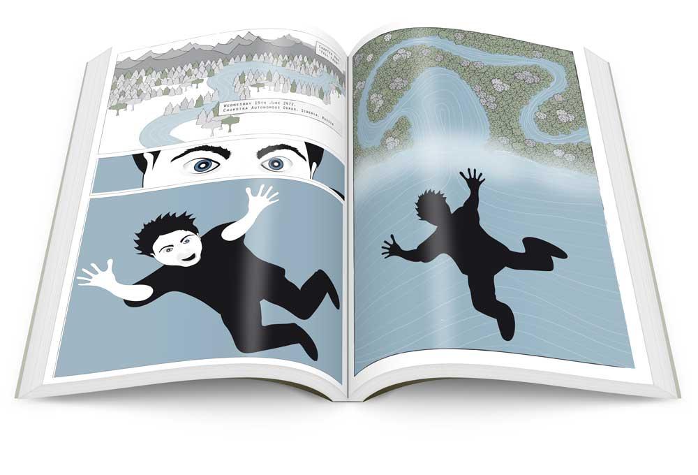 webcomic-book